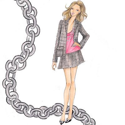 Designer Fashion Fabrics on Fabulous Doodles Brooke Hagel Fashion Illustration Blog  June 2010