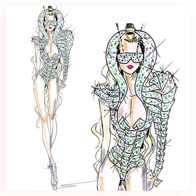 lady gaga hair single artwork. lady gaga hair album artwork.