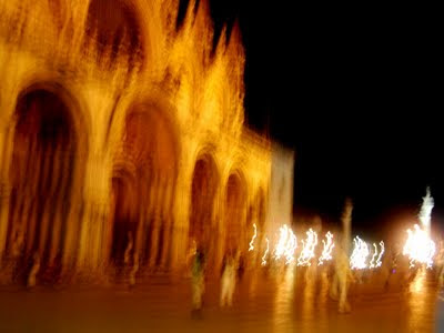 San Marco che brucia