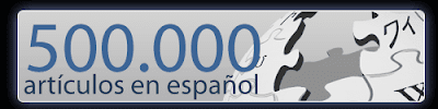 Wikipedia en español: 500000 artículos