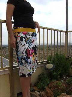 falda exclusiva, diseño falda