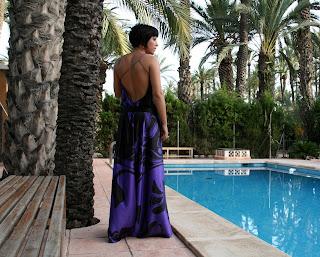 vestido de fiesta diseño exclusivo