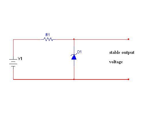 Zener Diode Voltage Regulator CircuitZener Diode Voltage Regulator