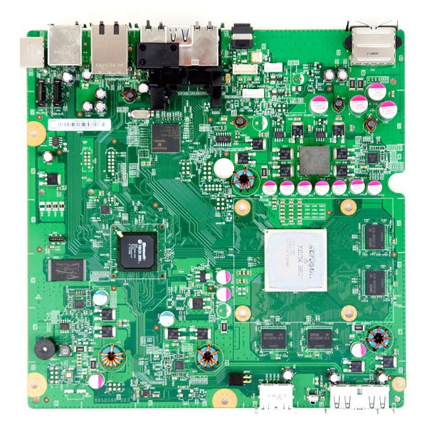xbox 360 slim motherboard. Inside The Xbox 360 Slim