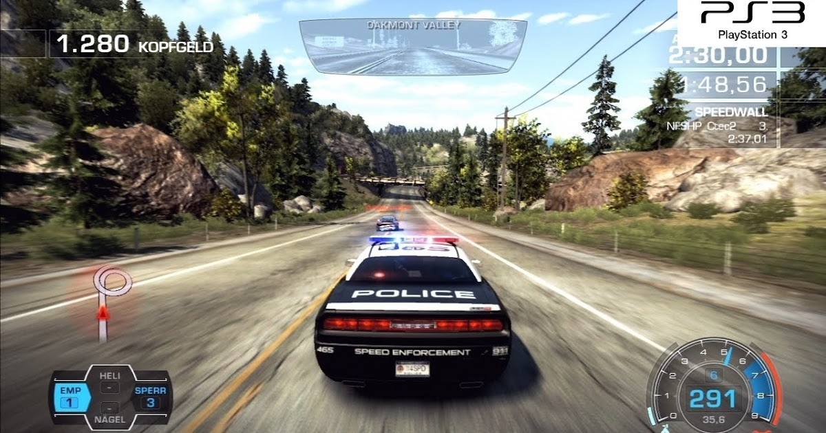 iqgamer tech analysis need for speed hot pursuit ps3. Black Bedroom Furniture Sets. Home Design Ideas