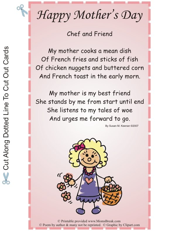 mothers day poems from kids. mothers day poems for kids.