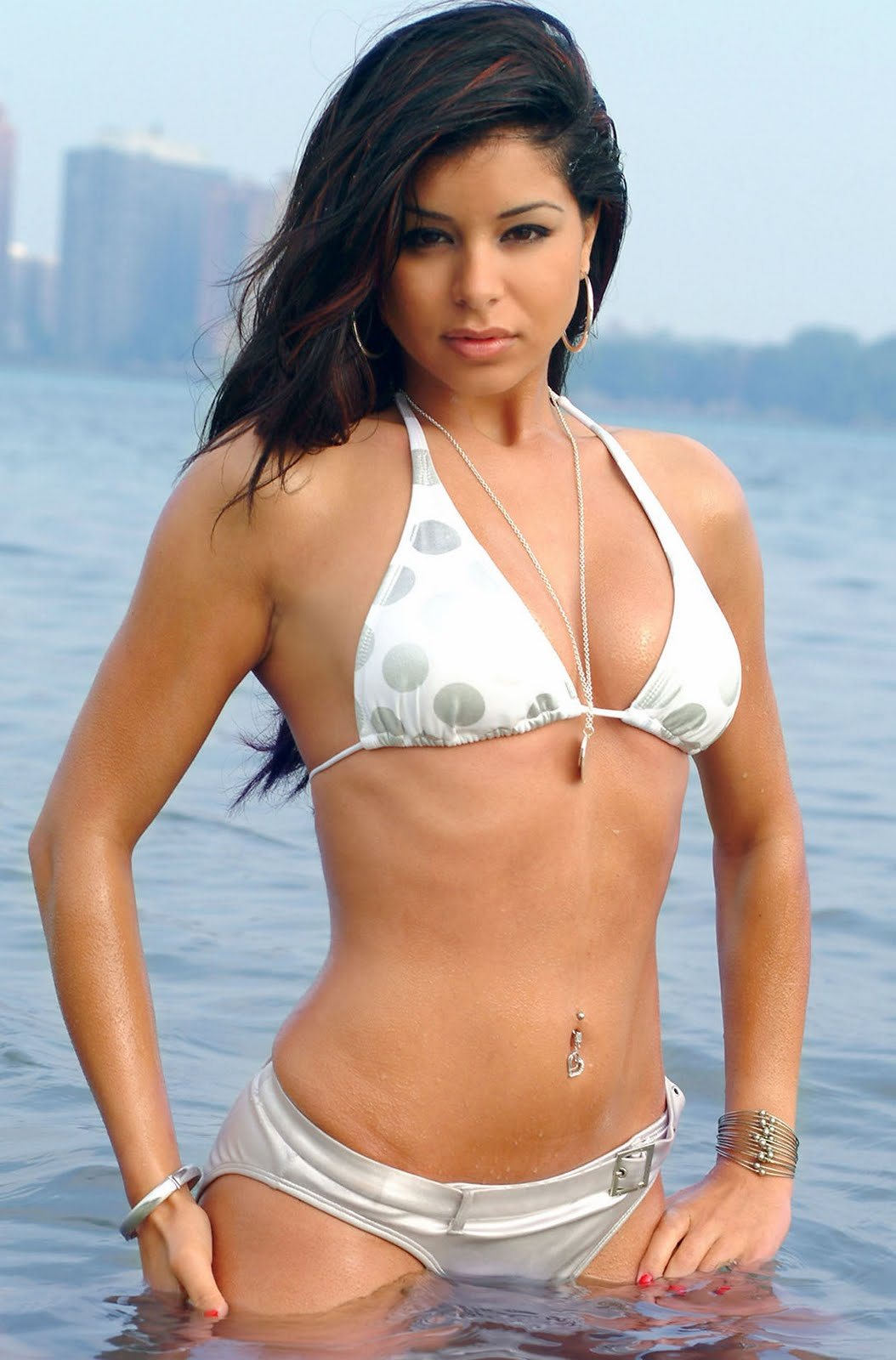 Thephotozone Rima Fakih Hot Bikini Photo Gallery