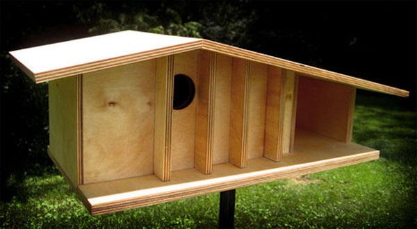 Wallpaper world modern bird house design for Different bird houses