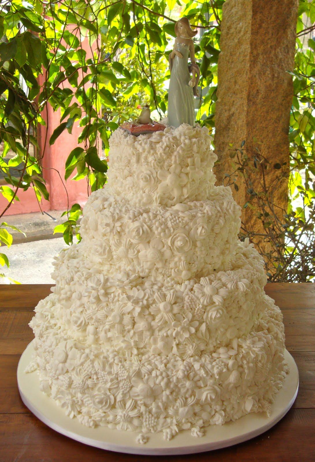 Flores De Glac    O Bolo De Casamento Escolhido Os Noivinhos Lladr