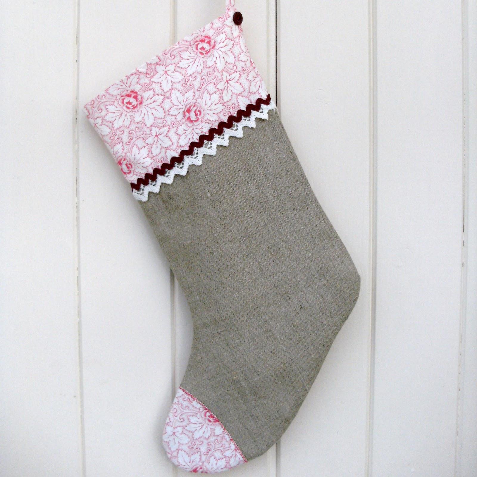 Sew Good By Deborah Good Make A Christmas Stocking