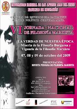 VI Jornada de Filosofía Marxista -UNSAAC