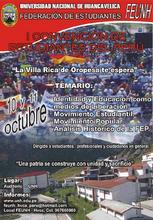 I Convencion de Estudiantes del Perú