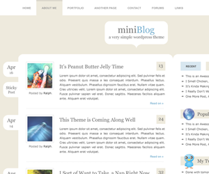 miniBlog