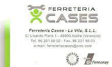 """FERRETERÍA CASES AUSPICIA """"EL OJO VALE N TINO"""""""