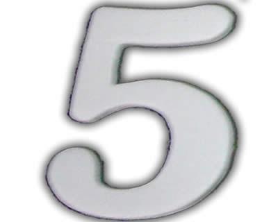 NUmerologia número (5)