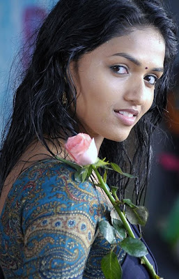 Sunaina in half saree cute photos 02