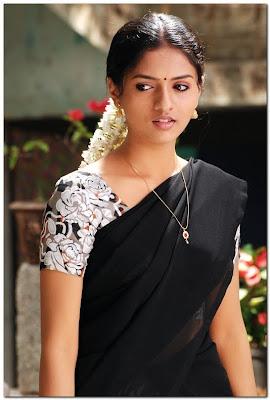 Sunaina in half saree cute photos 08