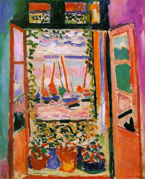 Art du vingti me si cle for Matisse fenetre ouverte