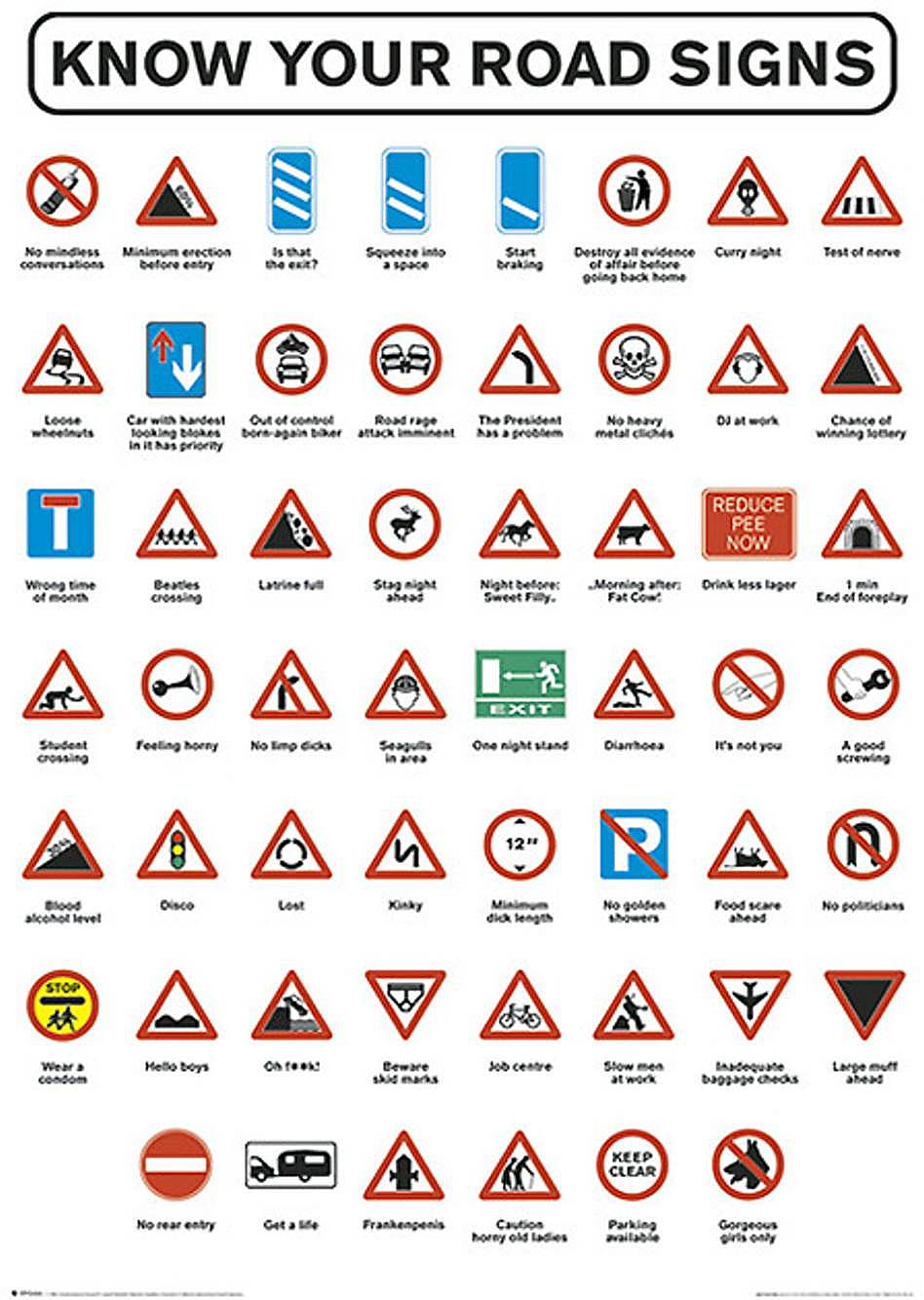 as what you can see road signs i know it is obvious but these are the