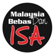 ABOLISH INTERNAL SECURITY ACT (ISA)