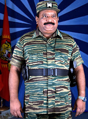 THE LEADER OF TAMIL FREEDOM FIGHTERS IN SRI LANKA