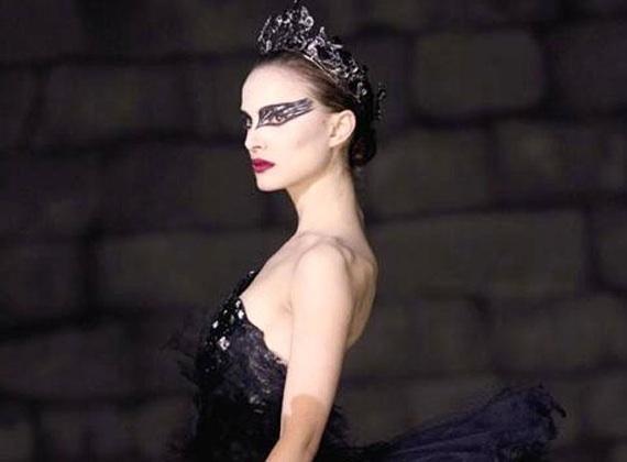 black swan makeup white swan. Natalie Portman White Swan.