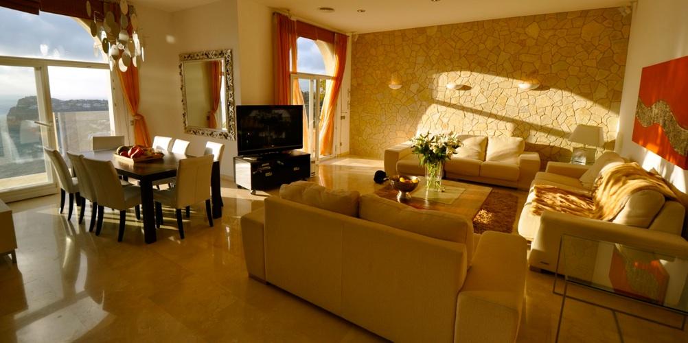 wohnzimmer steinwand kosten : wohnzimmer mit steinwand li meerblick ...
