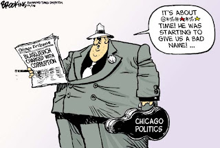 Chicago politics - mob - glad Blagojevish is removed
