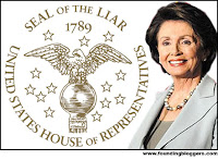 Seal of a Liar: Nancy Pelosi - Speaker of Lies