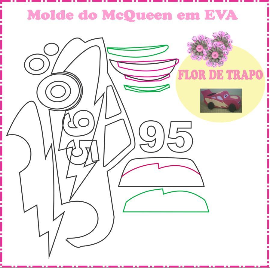 Molde McQueen the Car