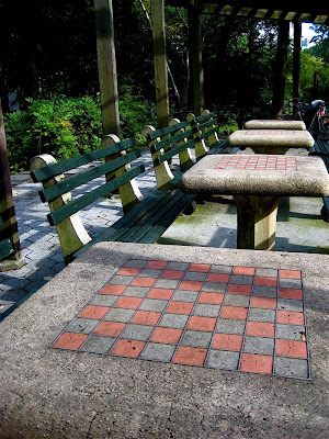 Chess Tables in the Park