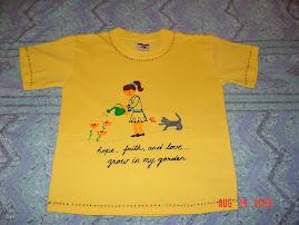 T-shirt (my garden)
