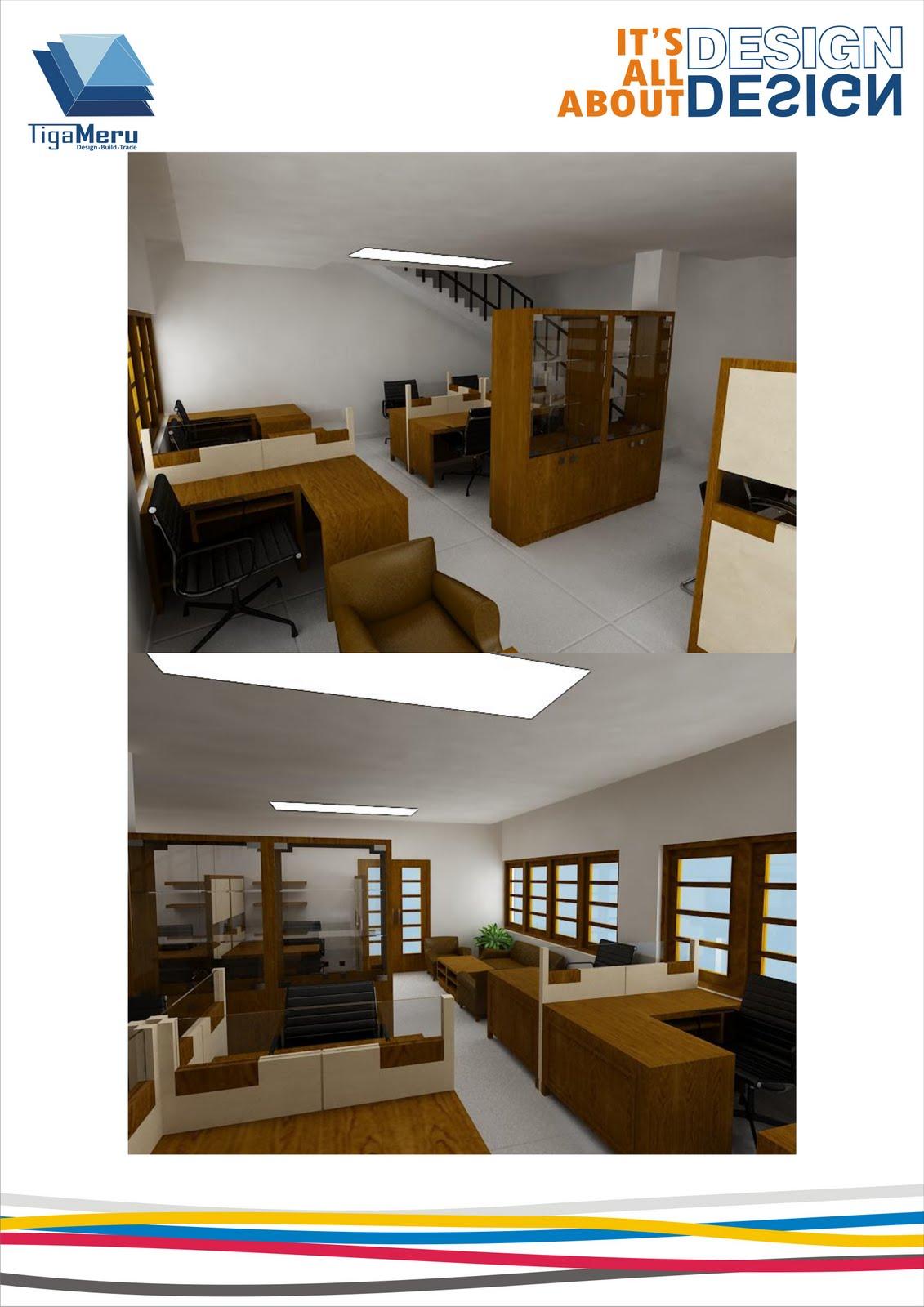 Desain Interior Kantor Daop VII Madiun PT KAI - TIGAMERU INTEGRATED ...