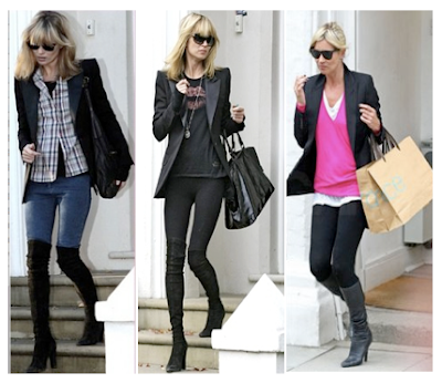 Looks casual Kate Moss tributo a la chaqueta smoking