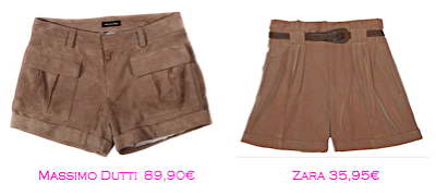 Shorts y bermudas: Massimo Dutti 89,90€ - Zara 35,95€