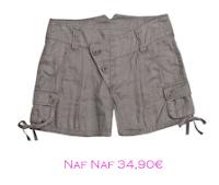 Shorts y bermudas: Naf Naf 34,90€