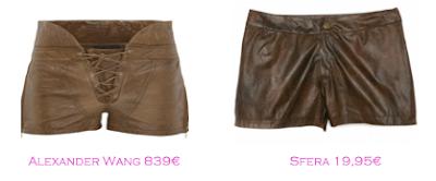 Shorts y bermudas: Alexander Wang 839€ - Sfera 19,95€