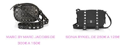 Tienda onlne: Net-a-porter: Bolso estilo Chanel 2.55: Marc by Marc Jacobs 150€ vs Sonia Rykiel 125€