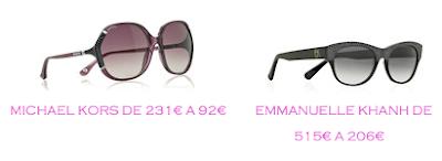Tienda online: Net-a-porter: Gafas: Michael Kors 92€ vs Emmanuelle Khanh 206€