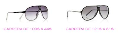 Tienda online: Net-a-porter: Gafas: Carrera 44€ vs Carrera 61€