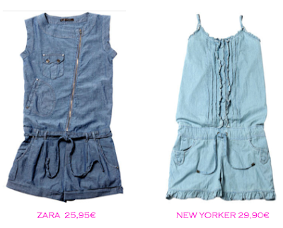 Mono shorts denim:Zara