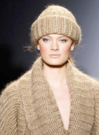 Gorro de lana de Michael Kors, Otoño-Invierno 2010/2011