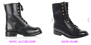 Botines planos 3 Marc Jacobs vs Aso