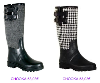 Botas Chooka tweed