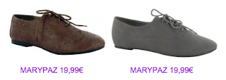 Zapatos blucher MaryPaz 2010/2011