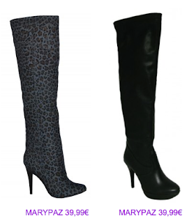 Botas print animal MaryPaz 5 2010/2011