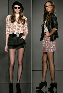 Looks print floral Pepe Jeans 4 2010/2011