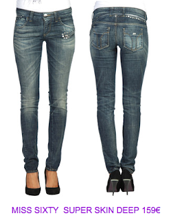 Jeans con tachuelas Miss Sixty 2010/2011