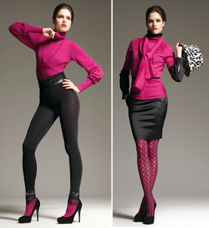 Looks en fucsia Wolford 6 2010/2011