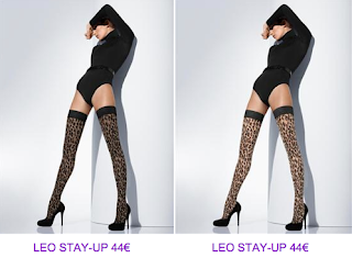 Medias stay-up print animal Wolford 7 2010/2011